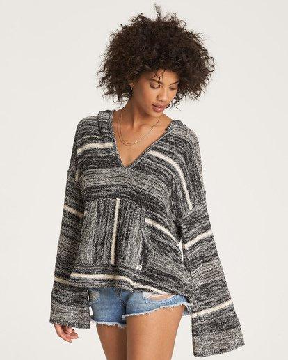 1 Baja Beach Sweater Black JV18WBBA Billabong