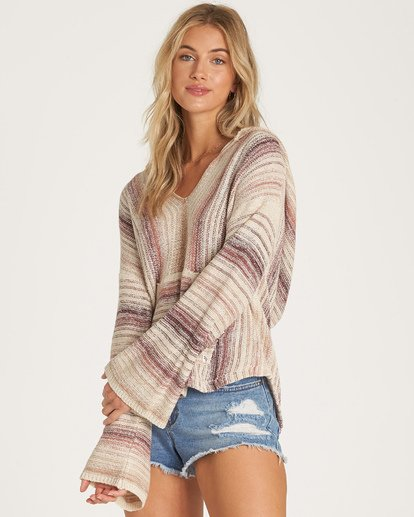 1 Baja Beach Sweater Purple JV18WBBA Billabong