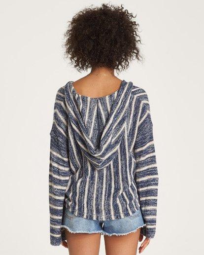 3 Baja Beach Sweater Blue JV18WBBA Billabong
