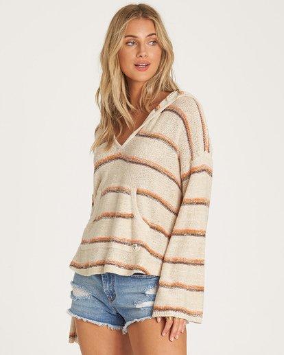1 Baja Beach Sweater Beige JV18WBBA Billabong