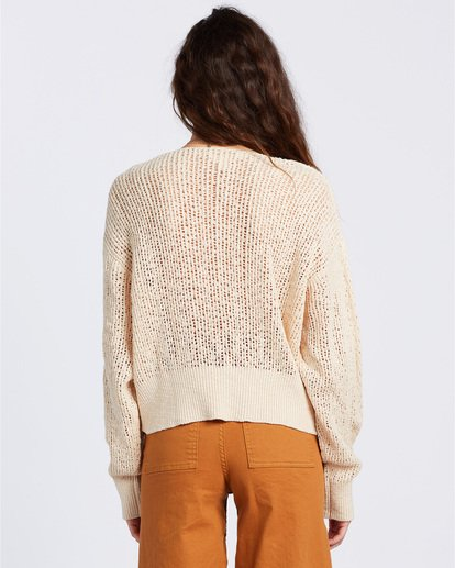 3 Feel The Breeze Sweater White JV193BFE Billabong