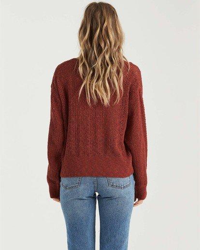 1 Feel The Breeze Sweater Brown JV193BFE Billabong