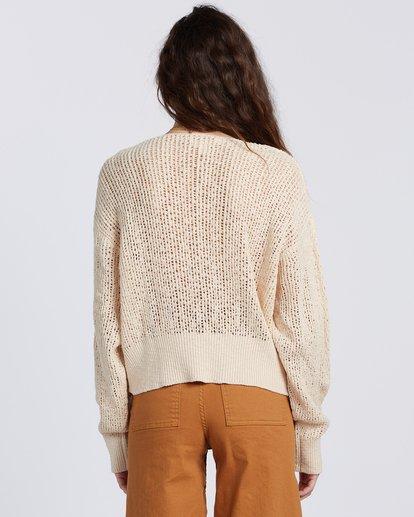 6 Feel The Breeze Sweater White JV193BFE Billabong