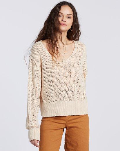 4 Feel The Breeze Sweater White JV193BFE Billabong
