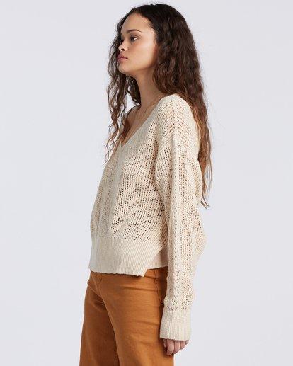 5 Feel The Breeze Sweater White JV193BFE Billabong