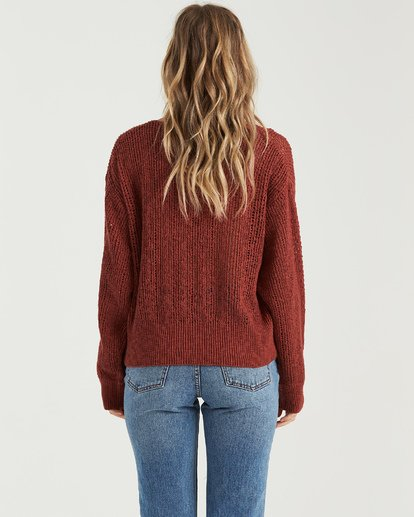 2 Feel The Breeze Sweater Brown JV193BFE Billabong