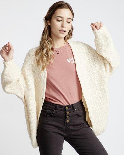 4 Sweet Love Sweater White JV30VBSW Billabong