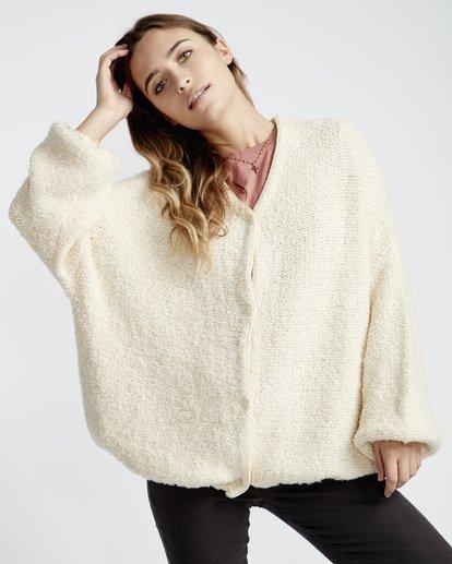 2 Sweet Love Sweater White JV30VBSW Billabong