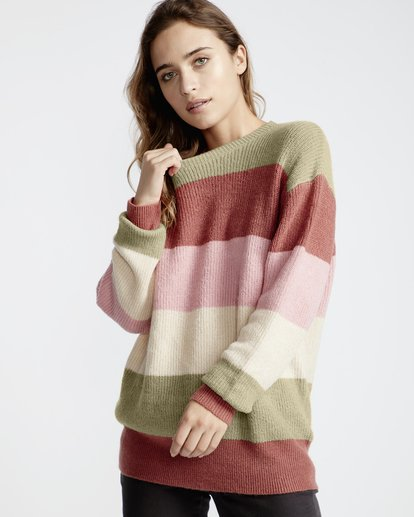 1 Night Out Sweater Pink JV31VBST Billabong