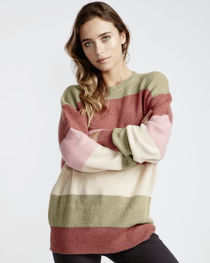 4 Night Out Sweater Pink JV31VBST Billabong