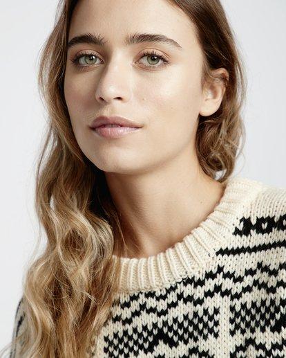5 Fall Fever Sweater White JV32VBFA Billabong