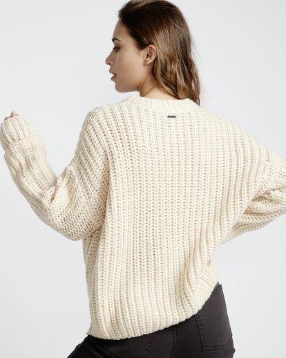 2 Pretty Cozy Sweater White JV33VBPR Billabong