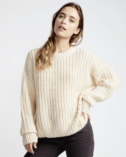 1 Pretty Cozy Sweater White JV33VBPR Billabong