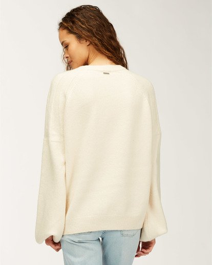 1 Wild Spaces Sweater White JV623BWI Billabong