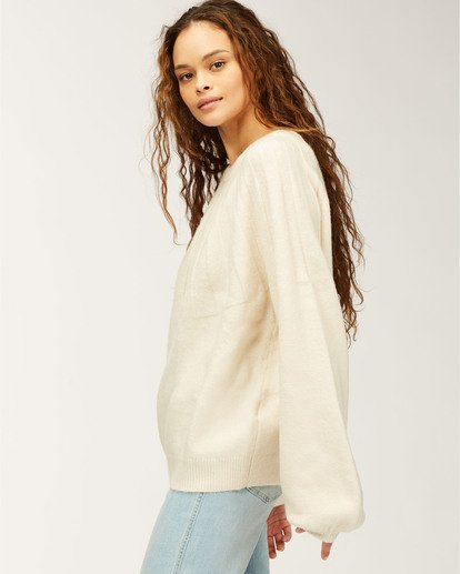 2 Wild Spaces Sweater White JV623BWI Billabong