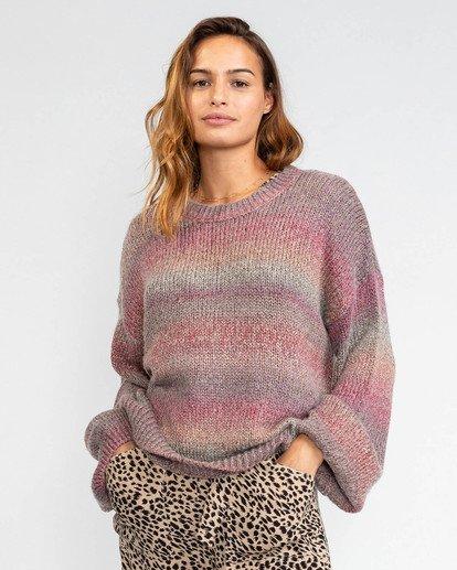 3 Day Dream Sweater Grey JV633BDA Billabong
