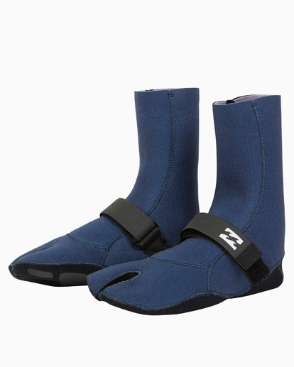 0 2mm Salty Daze Wetsuit Boot Blue JWBOQBD2 Billabong
