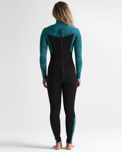 2 3/2 Synergy Back Zip Fullsuit Red JWFU1BL3 Billabong