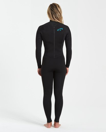 1 3/2 Synergy Back Zip Wetsuit Black JWFU3BB3 Billabong