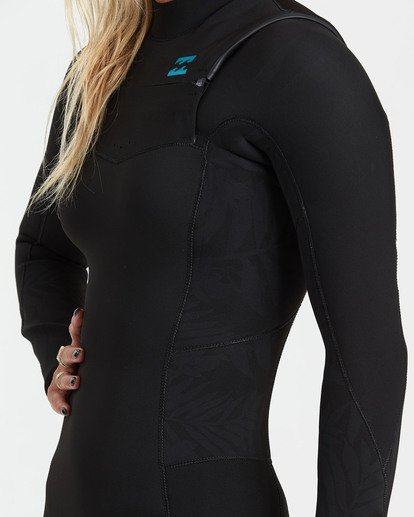 2 3/2 Synergy Back Zip Wetsuit Black JWFU3BB3 Billabong
