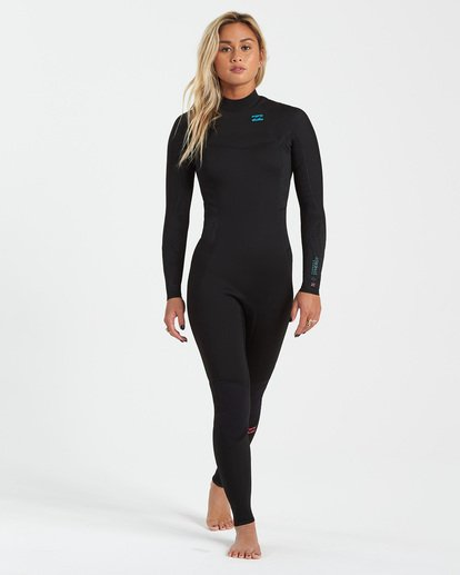 0 3/2 Synergy Back Zip Wetsuit Black JWFU3BB3 Billabong