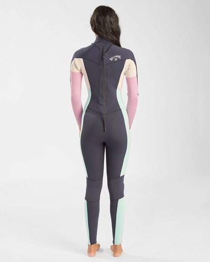 2 3/2 Synergy Back Zip Wetsuit Blue JWFU3BB3 Billabong