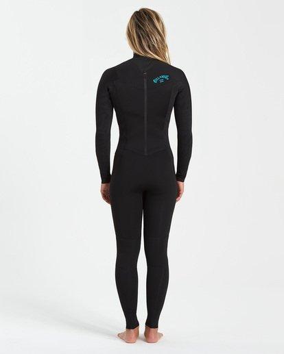 1 4/3 Synergy Back Zip Wetsuit Black JWFU3BB4 Billabong