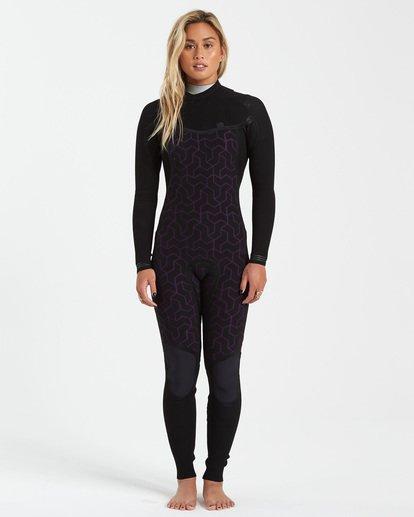 3 3/2 Furnace Comp Chest Zip Wetsuit Purple JWFU3BC3 Billabong
