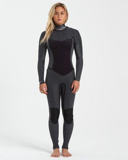 4 3/2 Salty Dayz Wetsuit Black JWFU3BS3 Billabong