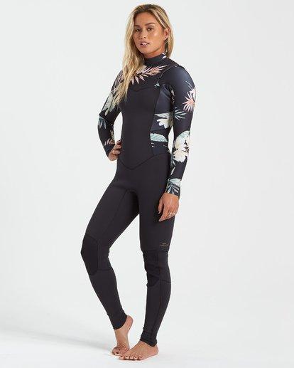 1 3/2 Salty Dayz Wetsuit Black JWFU3BS3 Billabong