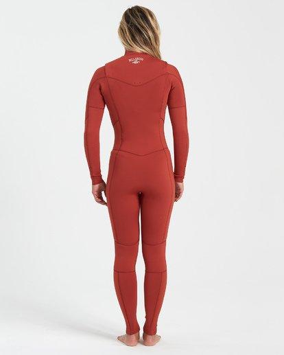 2 3/2 Salty Dayz Fullsuit Red JWFU3BS3 Billabong