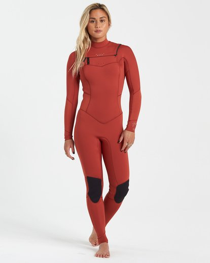 0 3/2 Salty Dayz Wetsuit Red JWFU3BS3 Billabong