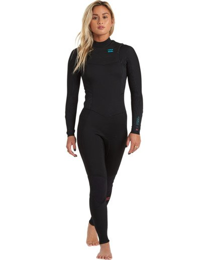 2 3/2 Synergy Chest Zip Wetsuit Black JWFU3BY3 Billabong