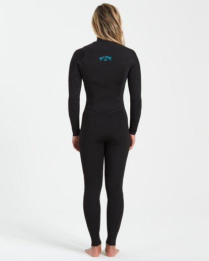 1 3/2 Synergy Chest Zip Wetsuit Black JWFU3BY3 Billabong