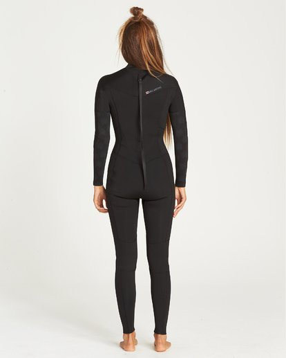 2 3/2 Furnace Synergy Back Zip Fullsuit Black JWFUQBB3 Billabong