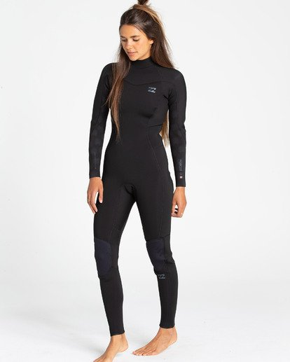 1 3/2 Furnace Synergy Back Zip Fullsuit Black JWFUQBB3 Billabong