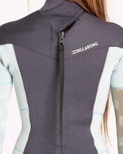 3 3/2 Furnace Synergy Back Zip Fullsuit Blue JWFUQBB3 Billabong