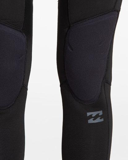 4 4/3 Furnace Synergy Back Zip Fullsuit Black JWFUQBB4 Billabong