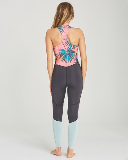 2 2mm Salty Jane Sleeveless Fullsuit Pink JWFUTBSJ Billabong