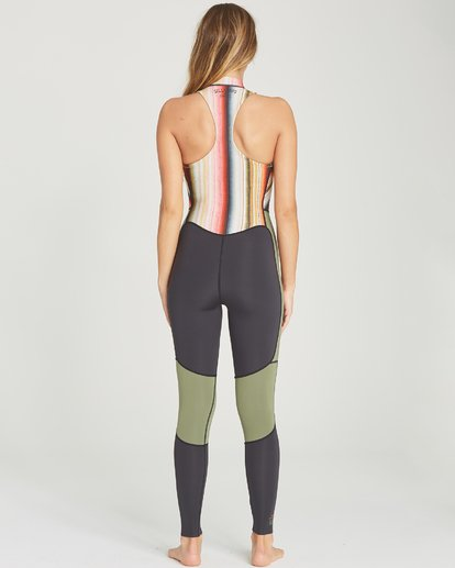 3 2mm Salty Jane Sleeveless Fullsuit Grey JWFUTBSJ Billabong