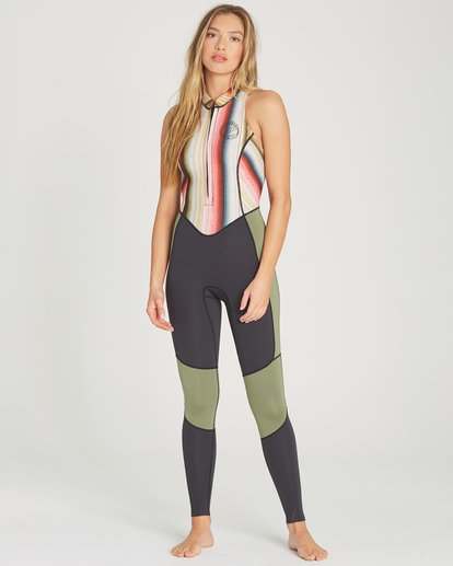 1 2mm Salty Jane Sleeveless Fullsuit Grey JWFUTBSJ Billabong