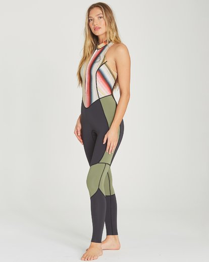 2 2mm Salty Jane Sleeveless Fullsuit Green JWFUTBSJ Billabong