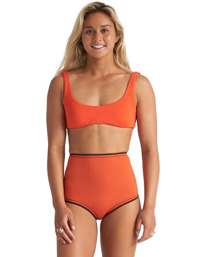1 1mm Hightide Wetsuit Short Orange JWSH1BSC Billabong