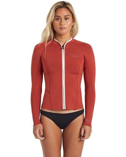 4 1mm Peeky Wetsuit Jacket Red JWSH3BSL Billabong