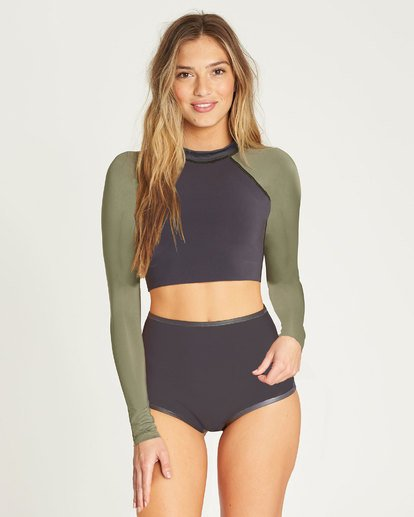 1 Sea Crop Cropped Wetsuit Jacket  JWSHTBLT Billabong