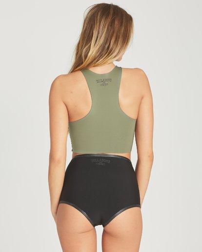 4 Hightide Short Neoprene Bikini Bottom  JWSHTBSC Billabong