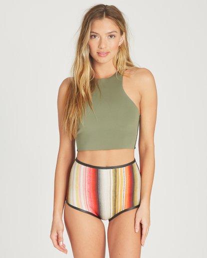 2 Hightide Short Neoprene Bikini Bottom  JWSHTBSC Billabong