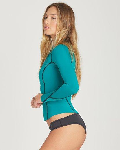 1 Peeky Wetsuit Jacket Green JWSHTBSL Billabong