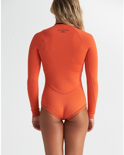 1 2mm Salty Dayz Long Sleeve Springsuit Orange JWSP1BSA Billabong