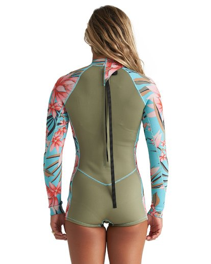 1 2mm Spring Fever Springsuit Green JWSP1BSF Billabong